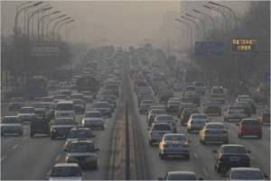Beijing Traffic Smog 300x201 Why Car Sales Are Declining Worldwide