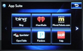 An Automobile App Suite [Lexus Enform]