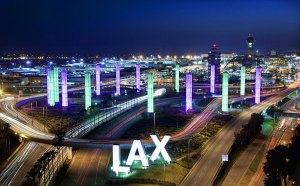 LAX 300x186 LAX Scraps Free Electric Vehicle Parking Spaces to Generate Revenue