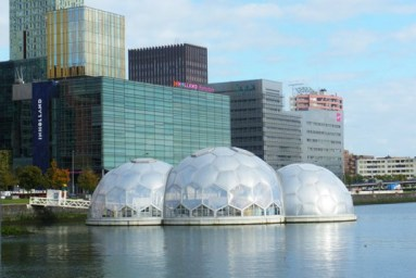 Rotterdam's Floating Pavilion is Solar Powered and Developed to Withstand Climate Change