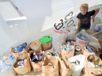vanis buckholz 10 Year Old Child Praised for Successful Recycling Business
