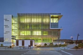 Tecnova Headquarters Buildings Pitagoras and Tecnova Spearhead Sustainability in Almeria, Spain