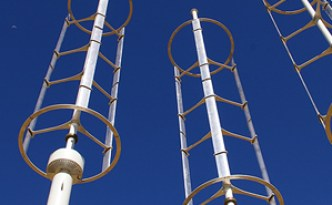 CalTech Vertical Wind Turbines Testing in Southern California