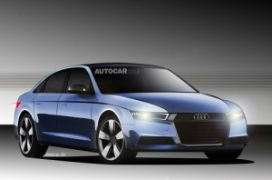 Audi a4 1 flat final2 300x198 2015 Audi A4 Plug In Hybrid Coming, at Least to the EU