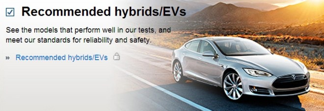 "Fullscreen capture 10312013 24013 PM.bmp Tesla Model S Gets Consumer Reports ""Recommended"" Status"