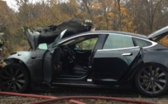 Tesla Model S Fire, NOT Special