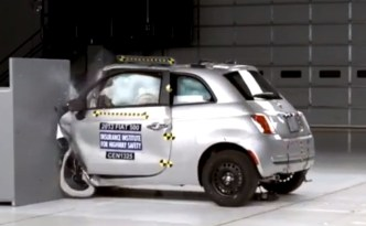 Small Cars Fare Poorly in Small-Offset Frontal Crash Tests