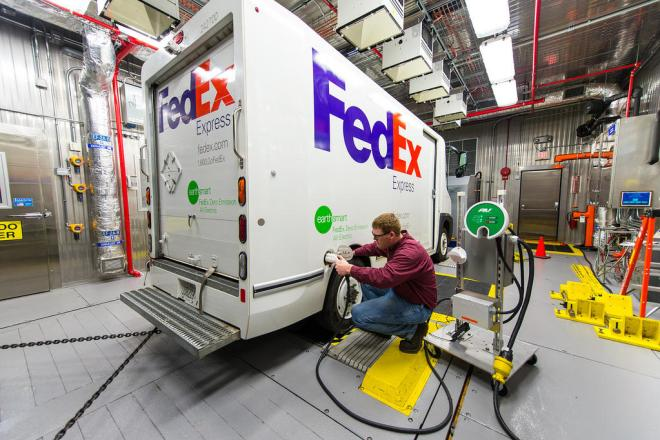electric truck testing FedEx Delivery Company To Test Hydrogen Fuel Cell Range Extenders