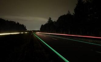 Smart Highway at N329 Route in Oss, Netherlands (c) Studio Roosegaarde