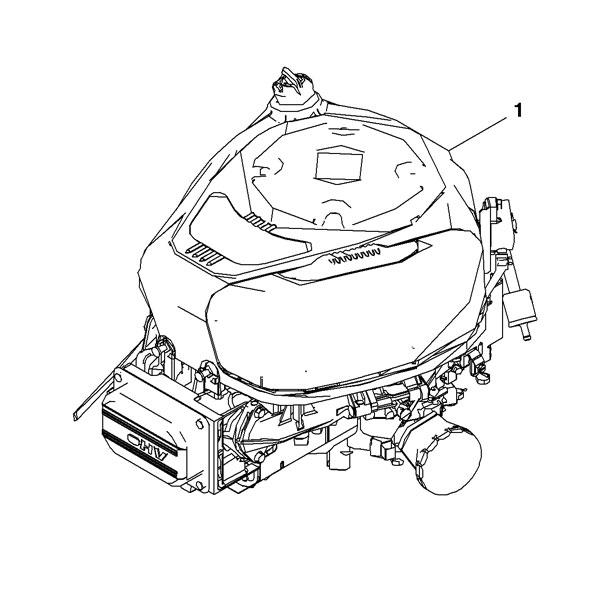 John Deere Complete Gasoline Engine - MIA13106