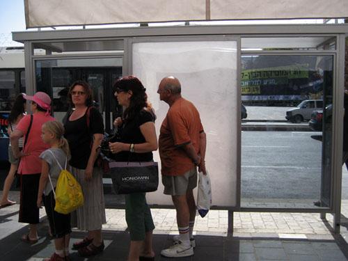 tel aviv bus stop israel urban design green prophet greenprophet