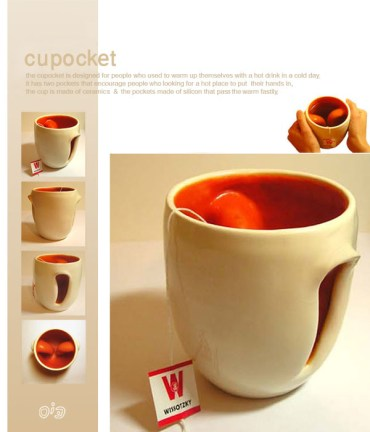 Perach Rafian's Cupocket Handles Your Hot Drinks With Care