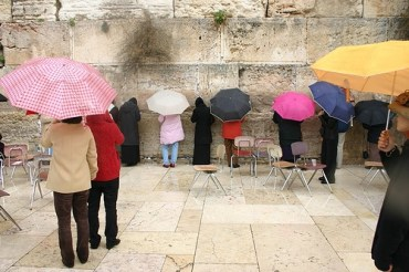 Praying for Rain in Jerusalem
