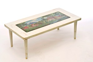tapestry recycled table