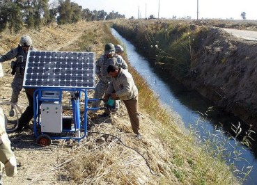 The IDF Adopts Solar Energy Field Rechargers in Army Practices