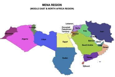 Middle East/Med Region Could Solar Power World 3 Times Over