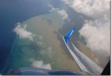 """Bird's Eye View"" Raw Sewage Sighting off Beirut's Coast"