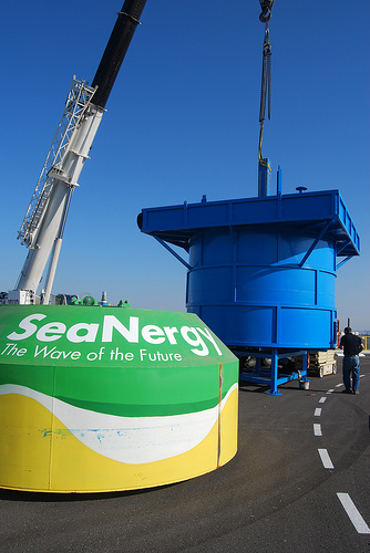 Seanergy Rides and Holds Wave Power