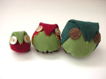 Inbal Weisman's Upcycled Fabric Owls Are a Hoot and a Green Prophet Giveaway!