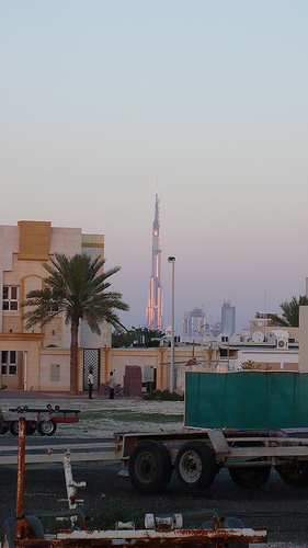 Burj Tower In Dubai A Steep Investment During Tough Economic And Environmental Times