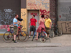 Ride a bike, Walk, Jog, or Run