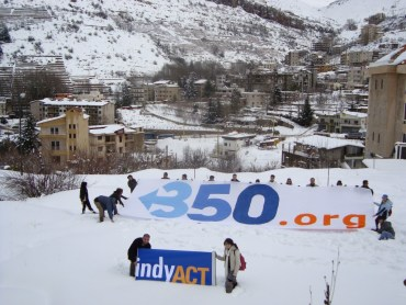 Lebanese Activists Mobilize to Protect Snow from Climate Change