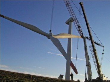 Turkey Blowing and Going on Wind Energy
