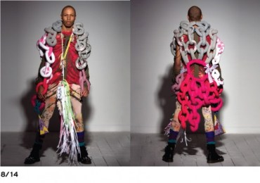 Lebanese Eco Designer Ziad Ghanem Creates Recycled Couture
