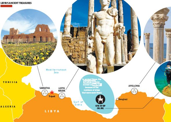 BP Deep Drilling In Libya Threatens Archeological Sites