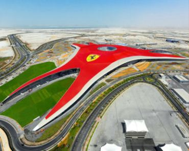 Ferrari Theme Park Revs Up Abu Dhabi's Ecological Demise