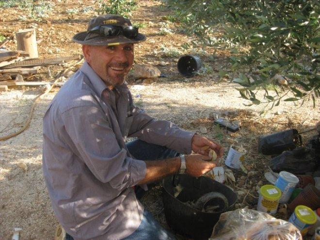 Murad Alkhufash marda permaculture farm palestine