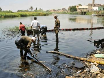 Perpetrators Flee The Scene Of Two Nile River Oil Spills