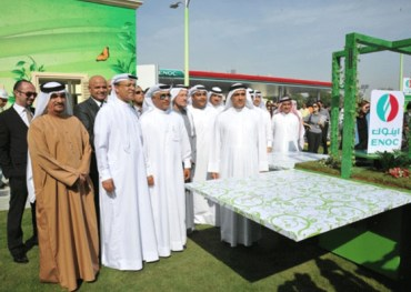 Green Gas Station Meets Stringent New Dubai Building Code