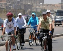 cycling in cairo