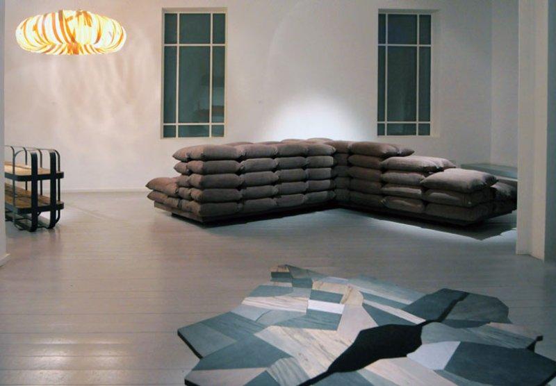 Ezri Tarazi Manifests Israeli's Conflict Identity With Recycled Design