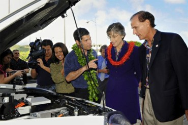 Better Place Chosen for Hawaiian Stimulus Funds