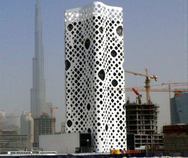 "After Four Years, Dubai's ""Holey"" O-14 Tower Finally Opens"