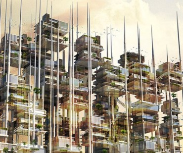 Mekano Designs Renewable Energy Skyscraper For Cairo's Filthy Garbage City