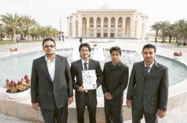 Sharjah Students Win Prestigious Award For Making Renewable Energy From Noise