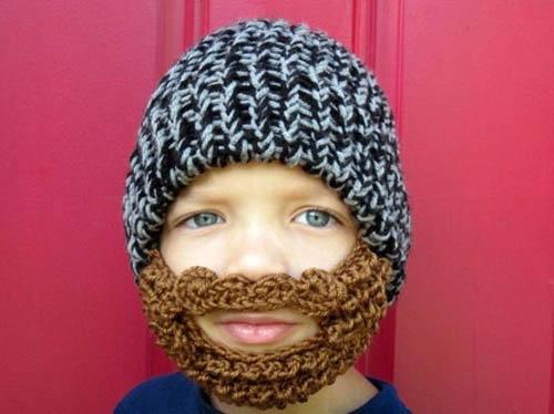 knit muslim beard