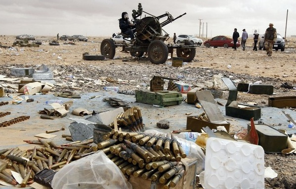 """War-Waste"" of Rockets, Shells and Morters Facing Local Libyans"