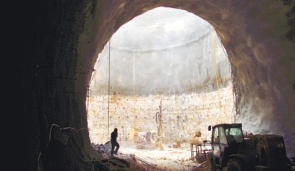 New Train Points to Underground River in Jerusalem