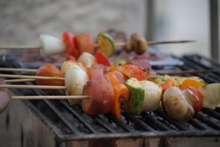 RECIPE: Grilled Vegetables With A Middle Eastern Accent
