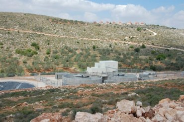 Israeli Court Bans Use of West Bank Sewage Plant