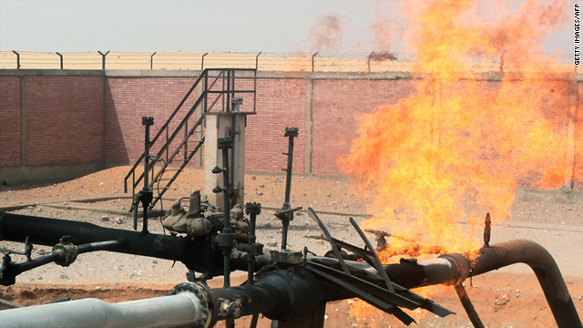 Third Egyptian Natural Gas Pipeline Blown Up By Terrorists