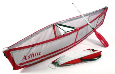 The Adhoc Canoe You Can Carry On Your Back