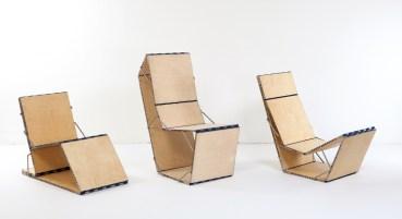 Modular Loop Chair Serves a Twelve-Fold Function