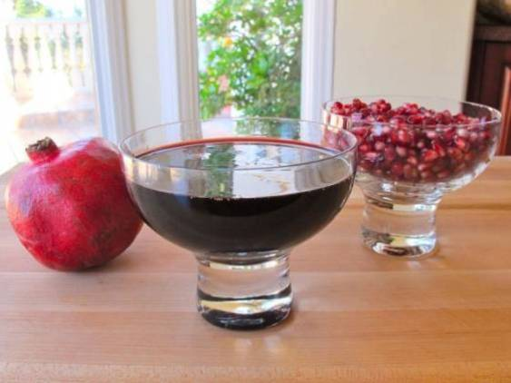 pomegranate molasses recipe