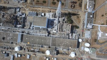 Damaged Fukushima reactors