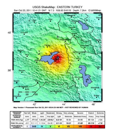 Breaking News: Devastating 7.3 Earthquake Hits Eastern Turkey